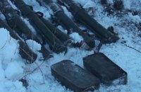 У Запорізькій області знайшли сховок з гранатометами і патронами