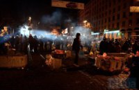 На улице Грушевского находятся около 2 тысяч активистов