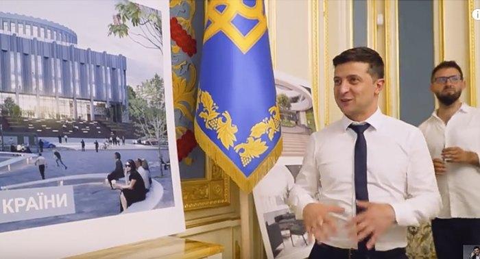 Владимир Зеленский и Иван Юнаков