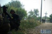 Окруженные украинские военные сдаются в плен российским десантникам (Обновлено)
