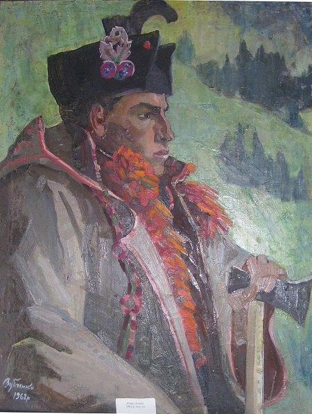 Легінь.1962. Олія, полотно