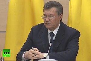 В економічній кризі винні Майдан і США, - Янукович