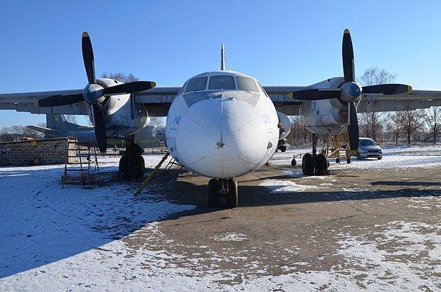 Так выглядел самолет до ремонта