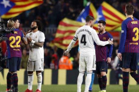 Перше Ель Класіко сезону можуть перенести з Барселони до Мадрида