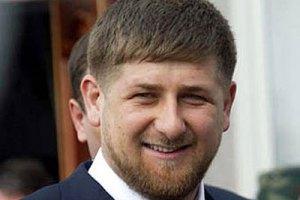 Кадиров: 74 тисячі чеченців готові виїхати, щоб навести лад в Україні