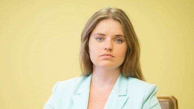 Виктория Страхова, бывшая корпоративный секретарь Приватбанка