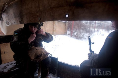 На Донбасі окупанти сім разів обстріляли українські позиції
