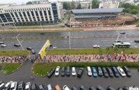 В столице Беларуси проходит массовый марш (обновлено)