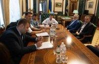Зеленський в Офісі президента обговорив з Коломойським питання ведення бізнесу
