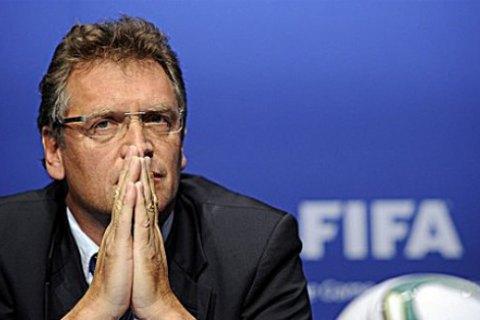 Генсек ФИФА Вальке отстранен от работы из-за подозрений в коррупции
