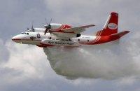 За 50 км від Чорнобиля загорівся ліс, до ліквідації пожежі залучено авіацію