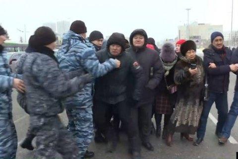 """В Минске проходит акция протеста против """"углубленной интеграции"""" с Россией"""