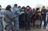 Під час протестів у Казахстані затримали 23 осіб, понад половина - жінки