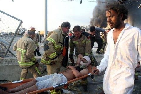 В Бейруте в результате взрывов погибли 70 человек, более 3 тысяч пострадали (обновлено)