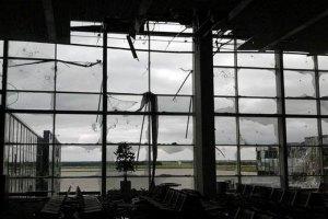 Частина українських військових відійшла з Донецького аеропорту