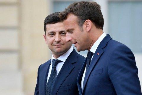Посол Франції: між Зеленським та Макроном встановився дружній зв'язок