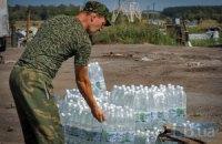 Волонтеры привезли в Славянск гуманитарную помощь
