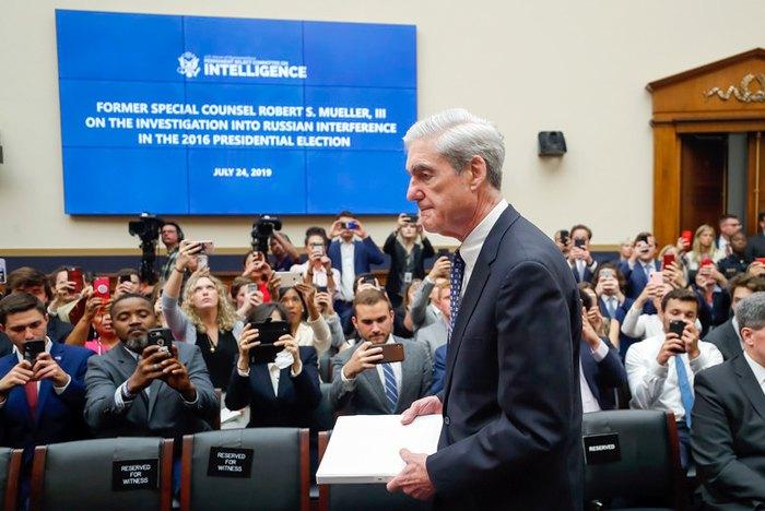 Спецпрокурор Роберт Мюллер на публічних слуханнях щодо втручання Росії у вибори