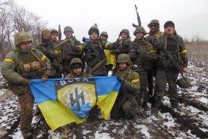 """Артилеристи підбили бойову техніку сепаратистів у Широкиному, - """"Азов"""""""
