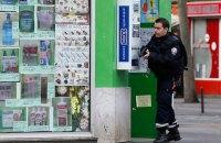 В Париже задержан мужчина, подозреваемый в подготовке теракта