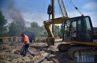 «Патріотику» не зупинити: скандальне будівництво на Осокорках триває