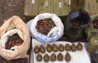 У одного из подозреваемых в покушении на координатора С14 Мазура нашли арсенал оружия