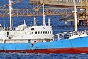 Корабль с гнилым мясом в течение дня покинет Одессу