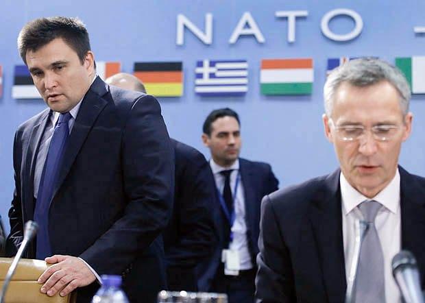 Павло Клімкін та генсек НАТО Йенс Столтенберг
