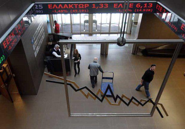 Экономика Греции не выдержала долговой нагрузки