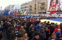 В воскресенье оппозиция снова соберет на Майдане Народное вече