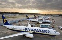 Ryanair має намір закрити два рейси з України через затримку постачань Boeing 737 MAX