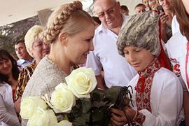Тимошенко поклялась Шевченко бороться с мафией