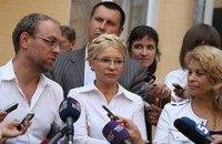 Тимошенко расценивает показания свидетелей в свою пользу
