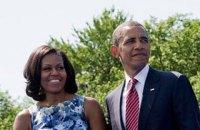 Семья Обамы в пятницу устроит прощальную вечеринку в Белом доме