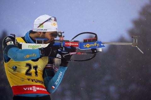 Фуркад выиграл вторую гонку на этапе Кубка мира по биатлону в Тюмени