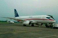 Оприлюднено відео з місця падіння Sukhoi Superjet-100