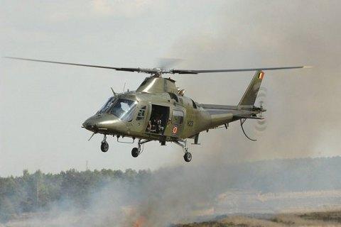 У Бельгії пілот з висоти в кілька сотень метрів випав з військового вертольота