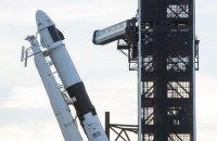 SpaceX впервые запустила корабль Crew Dragon