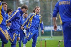 Сборная Украины заедет в Германию перед Евро-2012