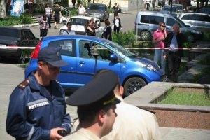 МВС далі посилено охороняє Дніпропетровськ