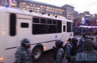 """Во Львов едет колонна автобусов """"Беркута"""""""