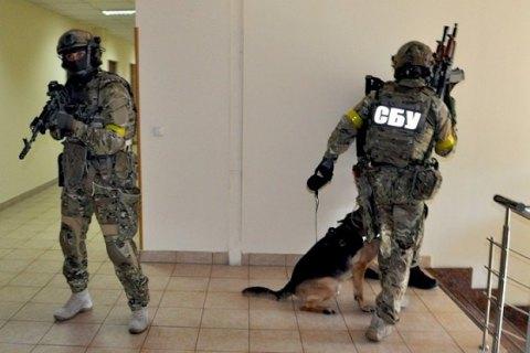 В Киеве провели антитеррористические учения