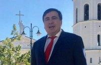 Саакашвили уехал из Польши в Литву