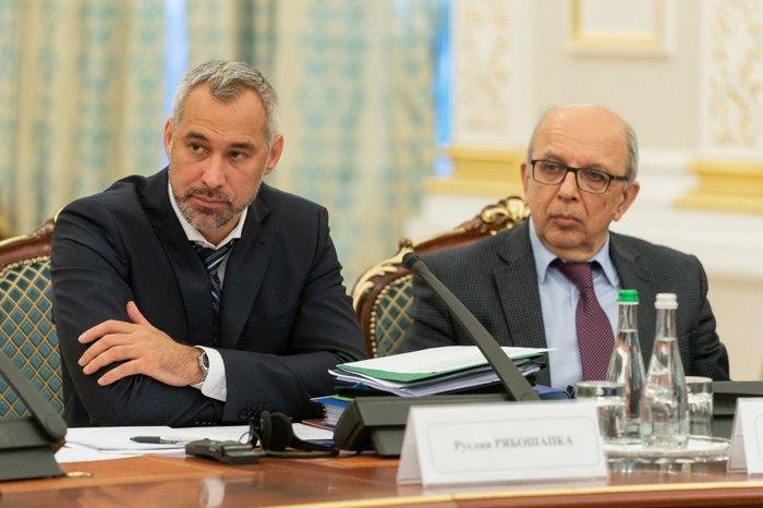Руслан Рябошапка і Михайло Буроменський - співголови Комісії з питань правової реформи