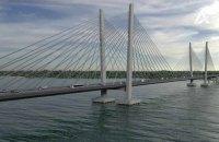 """""""Укравтодор"""" підписав багатомільярдний контракт на будівництво нового мосту через Дніпро"""