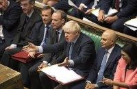 """Британський парламент проголосував за нову відстрочку """"Брекзиту"""""""