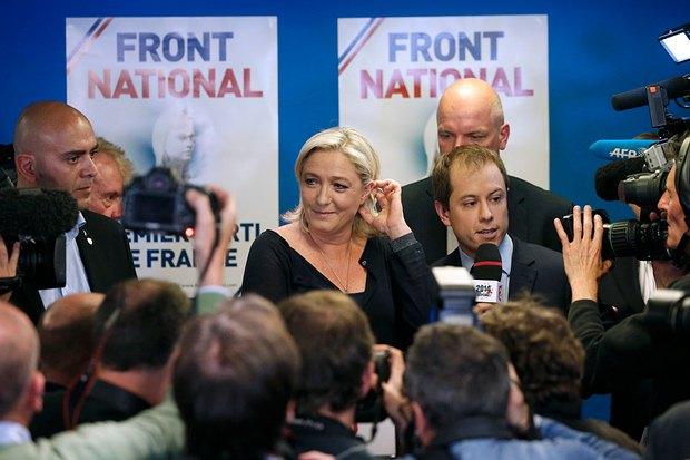 Президент Национального фронта Марин Ле Пен