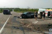 На трассе Горловка-Бахмут в ДТП погибли три человека, семь - ранены