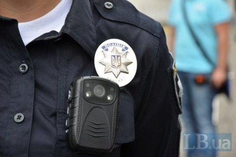 У київської поліції викрали дві машини