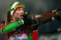 Белоруска Домрачева выиграла спринтерскую гонку на этапе Кубка мира по биатлону в Тюмени (обновлено)